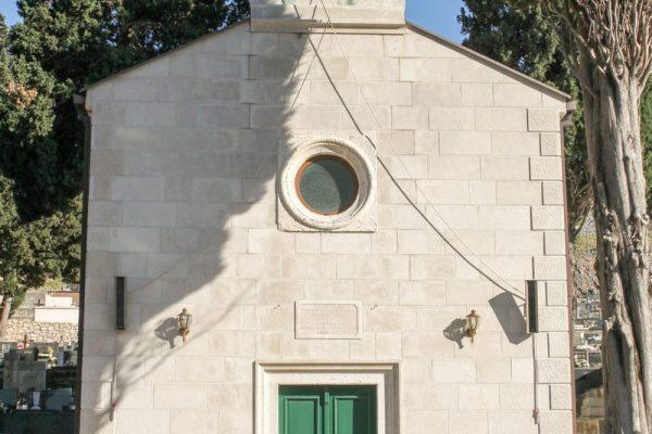 Crkva svetog Roka pročelje