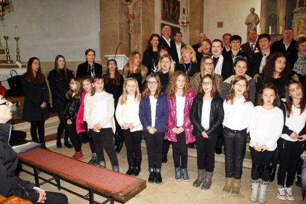 Dječji zbor, Zbor mladih i dio Mješovitog zbora